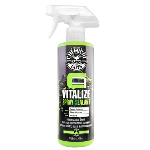 CARBON FLEX VITALIZE SPRAY SEALANT & QUICK DETAILER FOR MAINTAINING PROTECTIVE COATINGS