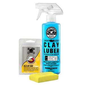 Yellow Clay Bar & Luber Spray (Light/Medium Duty)