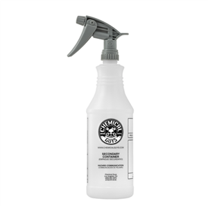 Professional Chemical Guys Chemical Resistant Heavy Duty Bottle & Sprayer (32 oz)