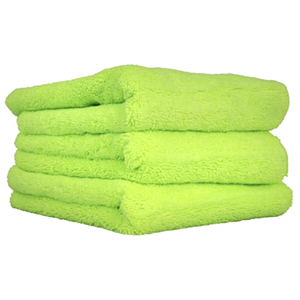 El Gordo Microfiber Towels, Green 16.5 x 16.5
