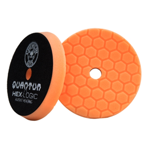 Quantum Medium-Heavy Cutting Pad, Orange (6.5 Inch)