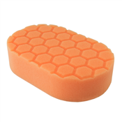 Hex-Logic Orange Cutting Hand Pad