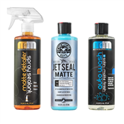 Complete Matte Kit - Wash, Spray Detailer and Sealant/Protectant